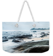 Weekender Tote Bag featuring the photograph To Guard The Shore by Parker Cunningham