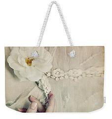 To Hold A Rose So Sweet Weekender Tote Bag