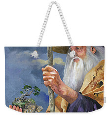 To Hold The World In The Palm Of Your Hand Weekender Tote Bag