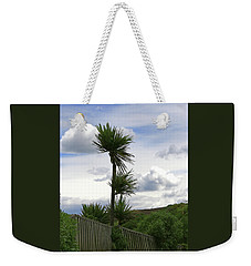 Weekender Tote Bag featuring the photograph To Kouka Cabbage Tree by Nareeta Martin