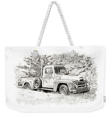 To Load Or Be Loaded Weekender Tote Bag