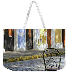 To Sit In Old San Juan Weekender Tote Bag