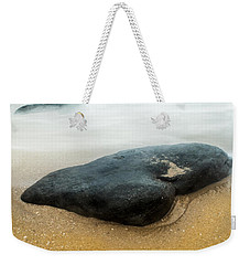 Weekender Tote Bag featuring the photograph To Stay Between by Parker Cunningham
