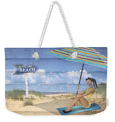 To The Beach Weekender Tote Bag
