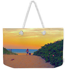 To The Beach Weekender Tote Bag by Todd Breitling
