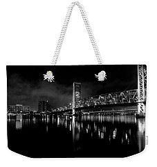 Weekender Tote Bag featuring the photograph To The Crowne by Eric Christopher Jackson