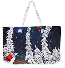 To The North Pole Weekender Tote Bag