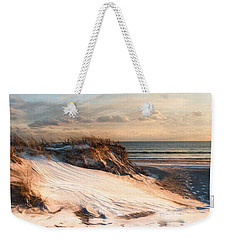 Weekender Tote Bag featuring the photograph To The Sea by Robin-Lee Vieira