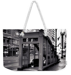 To The Subway - 2 Weekender Tote Bag by Ely Arsha