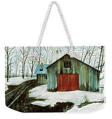 To The Sugar House Weekender Tote Bag
