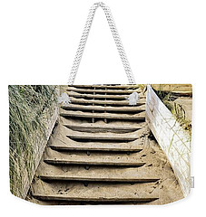 Weekender Tote Bag featuring the photograph To The Top by Michelle Calkins