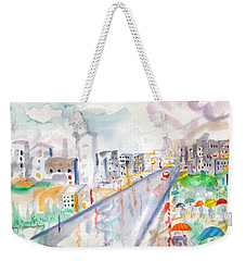 To The Wet City Weekender Tote Bag