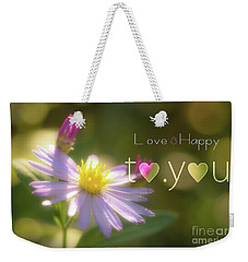 To You #003 Weekender Tote Bag