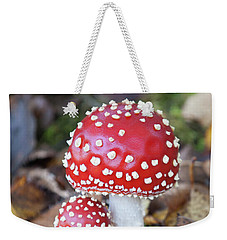 Toadstools In The Woods Vi Weekender Tote Bag