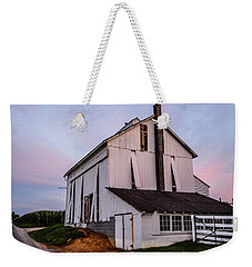 Tobacco Barn At Dusk Weekender Tote Bag
