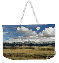 Tobacco Root Mountains Weekender Tote Bag by Cindy Murphy - NightVisions