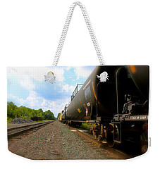 Tobyhanna Freight Train Weekender Tote Bag