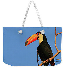 Toco Toucan Weekender Tote Bag by Bruce J Robinson
