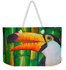 Toco Toucan Weekender Tote Bag