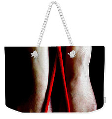 Toe Tied Weekender Tote Bag