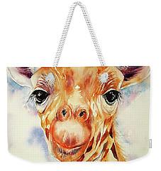 Toffee Giraffe Weekender Tote Bag