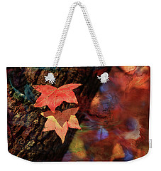 Weekender Tote Bag featuring the photograph Together II by Toni Hopper