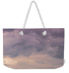 Together Looking At The Sky Weekender Tote Bag by Edgar Laureano