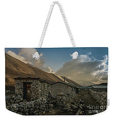 Weekender Tote Bag featuring the photograph Toilet by Mike Reid