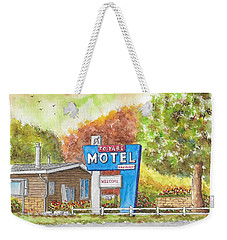 Toiyabe Motel In Walker, California Weekender Tote Bag