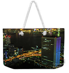 Tokyo Bay Area Skyline Weekender Tote Bag