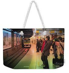 Tokyo Metro, Japan Weekender Tote Bag
