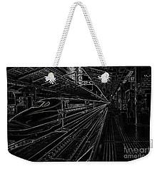 Tokyo To Kyoto, Bullet Train, Japan Negative Weekender Tote Bag