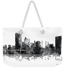 Toledo Ohio Skyline Weekender Tote Bag by Marlene Watson