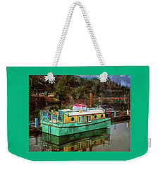 Weekender Tote Bag featuring the photograph Toledo Showboat by Thom Zehrfeld