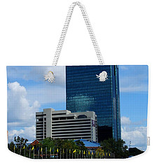 Toledo's Waterfront I Weekender Tote Bag by Michiale Schneider