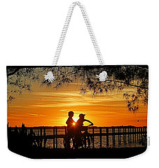 Weekender Tote Bag featuring the photograph Tom And Huck by HH Photography of Florida
