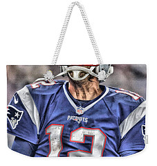 Tom Brady Art 5 Weekender Tote Bag
