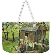 Tom Lott's Mill In Georgia Weekender Tote Bag