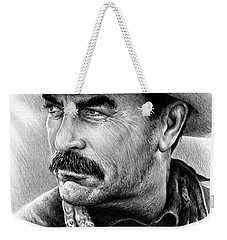 Tom Selleck As Monty Walsh Weekender Tote Bag