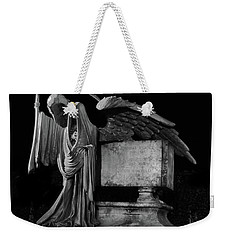 Weekender Tote Bag featuring the mixed media Tomas Riddle Tomb Harry Potter by Gina Dsgn