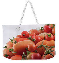 Weekender Tote Bag featuring the photograph Tomato Hill by James BO Insogna
