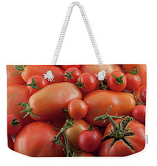 Weekender Tote Bag featuring the photograph Tomato Mix by James BO Insogna