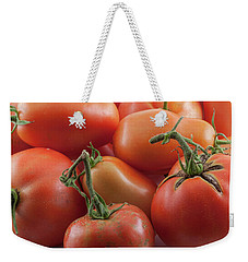 Weekender Tote Bag featuring the photograph Tomato Stems by James BO Insogna