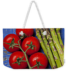 Tomatoes And Asparagus  Weekender Tote Bag