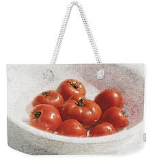 Tomatos Weekender Tote Bag by George Robinson