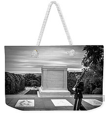 Weekender Tote Bag featuring the photograph Tomb Of The Unknown Solider by David Morefield