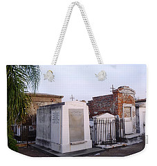 Tombs In St. Louis Cemetery Weekender Tote Bag