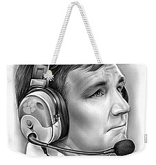 Tommy Bowden Weekender Tote Bag by Greg Joens
