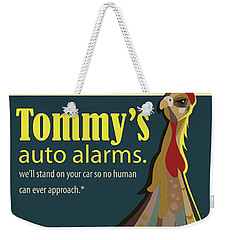 Tommy's Alarms Weekender Tote Bag