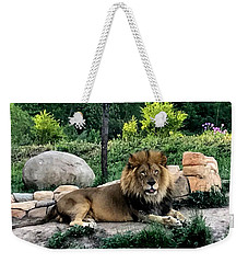 Tomo, The King Of Beasts Weekender Tote Bag